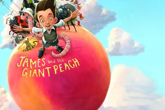 BARBARA HOCKADAY / JAMES AND THE GIANT PEACH