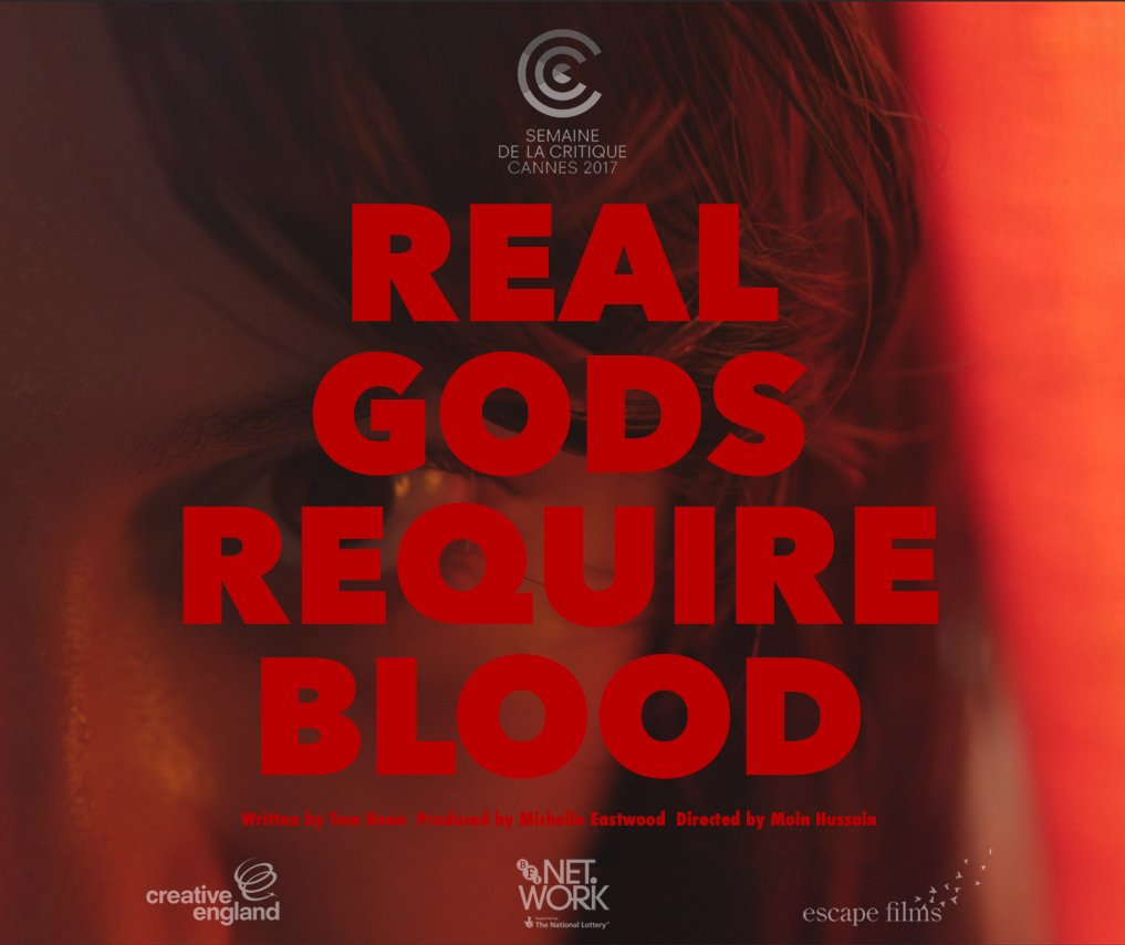 GILLIAN WAUGH / REAL GODS REQUIRE BLOOD CANNES 2017
