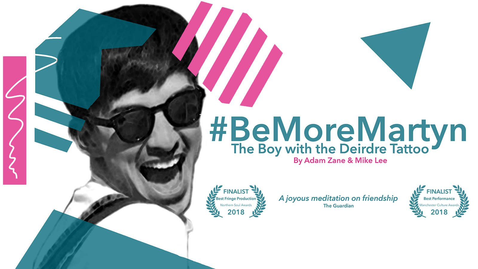 Joseph Carter And Chloe Proctor / #BeMoreMartyn: The Boy With The Deirdre Tattoo
