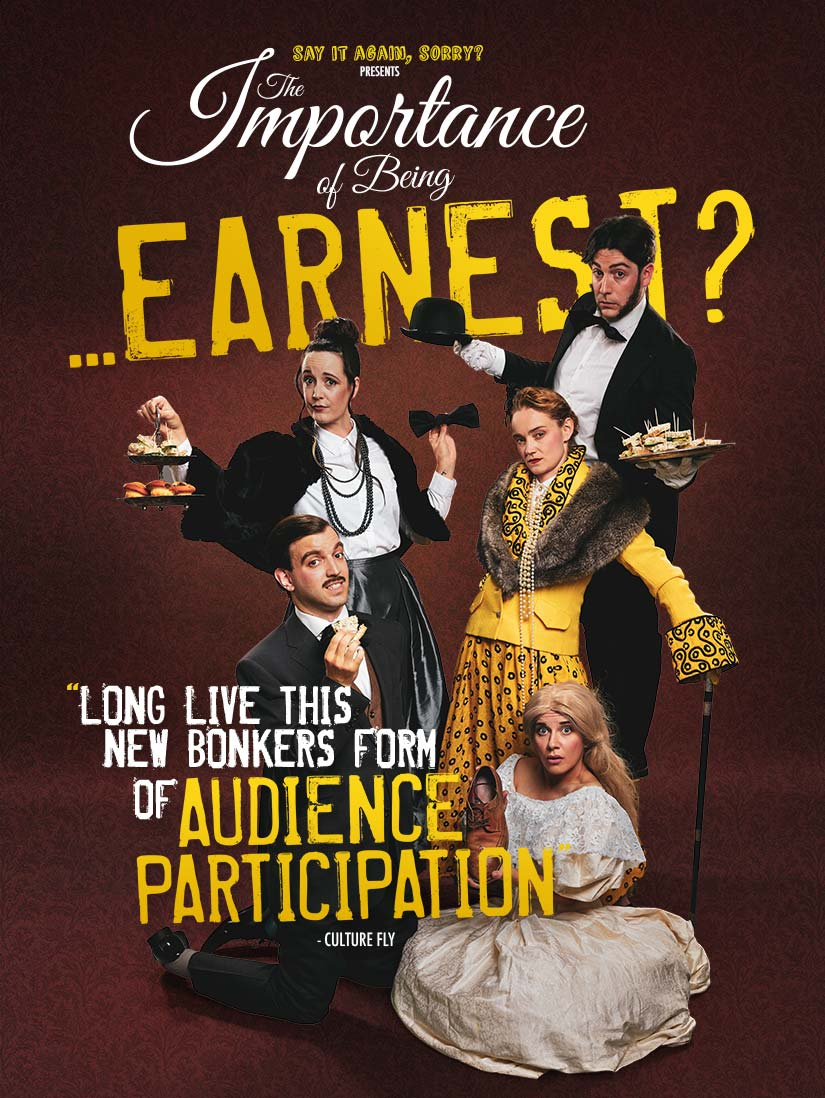 Alex Phelps / The Importance of Being… Earnest?
