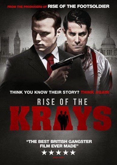 THE RISE OF THE KRAYS / DVD & DIGITAL RELEASE