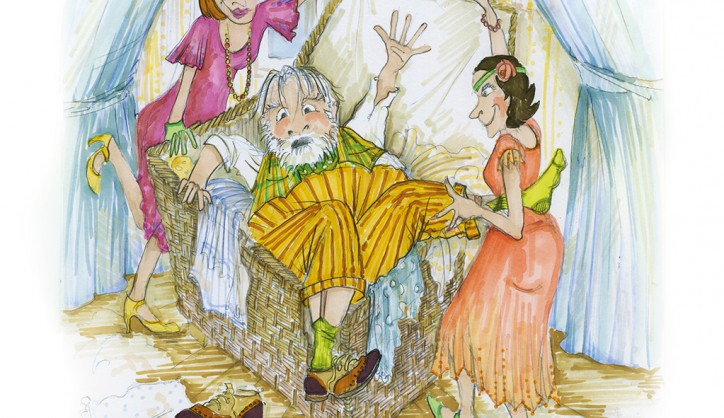 ADAM BARLOW, JOSH MORAN AND SARAH EVE / THE MERRY WIVES