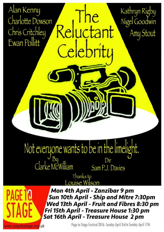 CHARLOTTE DOWSON / THE RELUCTANT CELEBRITY
