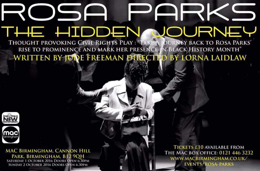 LORNA LAIDLAW & SAMANTHA YETUNDE / ROSA PARKS: THE HIDDEN JOURNEY