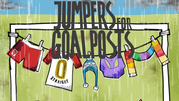 ADAM BARLOW / JUMPERS FOR GOALPOSTS